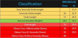 Bmi Chart Healthtangent