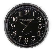 ws black wall clock australia