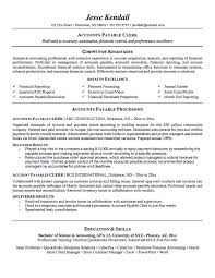 Resume People Skills Account Payable Resume Display Your Skills As Account Payable 9