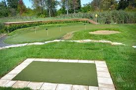 backyard chipping green synthetic turf international putting greens artificial grass diy backyard putting and chipping green