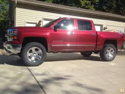 2014 new trucks fit 35s with level kit   Chevy Truck Forum   GMC ...