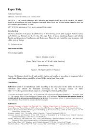 Journal Template Rais Journal For Social Sciences