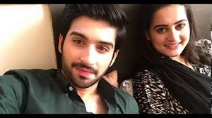 aiman khan muneeb butt beautiful couple in real life
