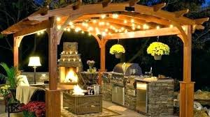outdoor lighting for pergolas. Outdoor Chandelier For Pergola Gazebo Lighting Dream  Plans Pergolas Backyard And Dining W