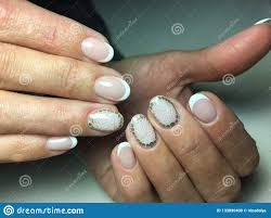 Elegant French Manicure Designs Delicate French Manicure Stock Photo Image Of Elegance