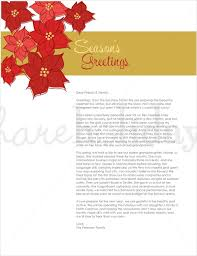 Holiday Templates Holiday Letter Ohye Mcpgroup Co