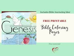 Free Bible Coloring Pages Bible Journal Idea Bible Journal Love