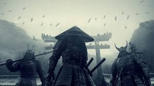 traditional japanese samurai art wallpaper. Plain Japanese S Katana Samurai Pagodas Sucker Punch Conical Hats In Traditional Japanese Samurai Art Wallpaper