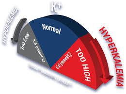 Potassium Blood Levels Chart Hyperkalemia Information Healthcare Professional Site