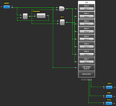 Asm Chart For 2 Bit Up Down Counter Creating A Synchronous State Machine From An Asm Dialog