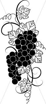 grapes clipart black and white. black and white grape clipart grapes k