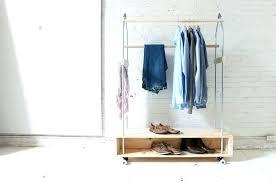 diy garment rack homemade clothes rack homemade clothes rack homemade clothes rack 8 homemade modern garment diy garment rack