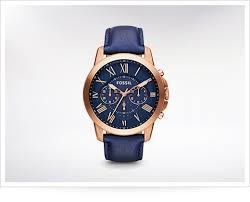 best gold watches askmen the grant makes bold moves a gold case a blue leather strap and some really big r numerals it s meant to look like a vintage clock for your