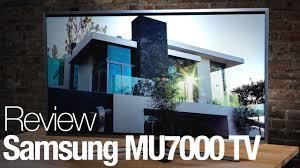 samsung ue55mu7000. samsung mu7000 4k hdr tv review ue55mu7000