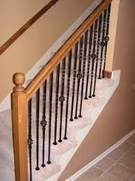 Gallery Spindles Iron Kc Wood Black Metal Stair Spindles