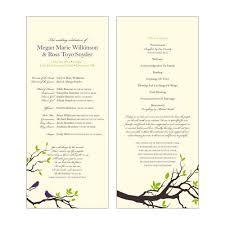 Catholic Wedding Mass Program Catholic Mass Wedding Program Template Free Templates 23666