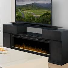 concord dark grey electric fireplace entertainment center gds50 1243sc
