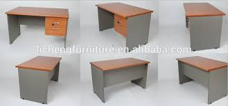 mdf office desk with locked drawers small office table for manufactuer