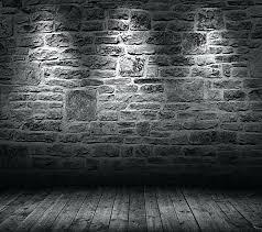 black wall background black brick old