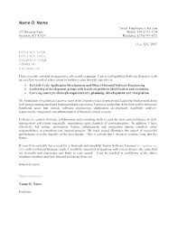 Cover Letter Examples For Internships Cover Letter Examples