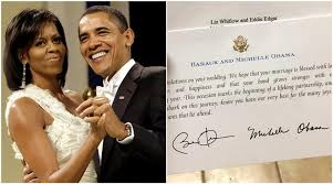 This Woman Sent A Wedding Invitation To The Obamas And Got The