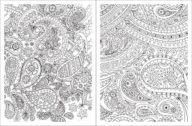 Small Picture Posh Adult Coloring Book Paisley Designs for Fun Relaxation
