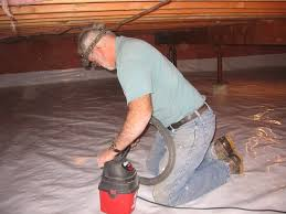 create a conditioned crawl space