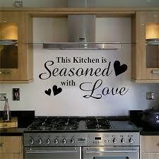 kitchen wall art sticker quote home