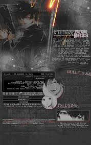 mal profile layouts psycho pass layout for mal by mushypoo on deviantart