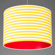 medium yellow and white stripes with red lining
