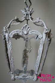 diy shabby chic shabby chic chandelier