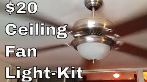 Diy Light Kit Ceiling Fan Light Kit Diy
