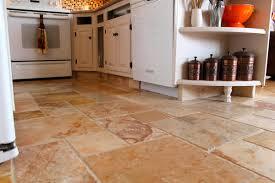 Retro Kitchen Floor Simple Idea Of Retro Kitchen Floor With Wooden Kitchen Cabinet