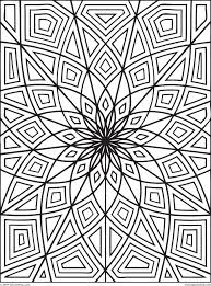 Small Picture Coloring Pages Printable Geometric Coloring Pages