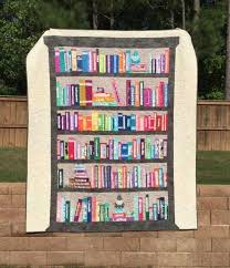 Selvage Bookshelf Quilt | Designers, Book quilt and Patchwork & You're going to love Selvage Bookshelf Quilt by Adamdwight.com