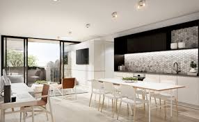 Modern Kitchen Living Room 23 Open Concept Apartment Interiors For Inspiration
