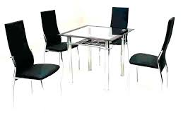 small dining table 4 chairs set glass dining table set 4 chairs dining table set 4