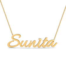 sunita gold name pendant 31 loading zoom
