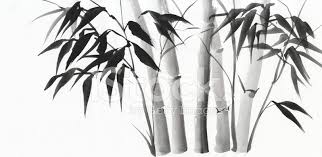 premium stock photo of watercolor painting of bamboo
