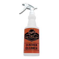 leather cleaner secondary bottle