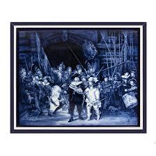 Tegelplaat Rembrandt Nachtwacht