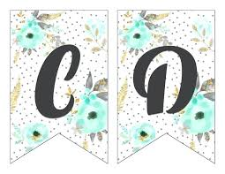 Letter For Banner Monogram Letter Template Printable Best Of Free Printable Alphabet