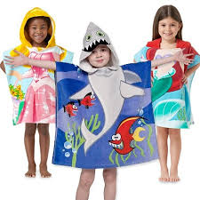 kids hooded beach towels. Northpoint-Kids-24-x48-100-Cotton-Hooded-Beach- Kids Hooded Beach Towels O
