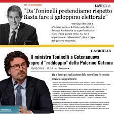 Sono vicino ai siciliani, Musumeci... - Danilo Toninelli