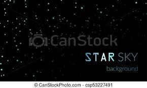 空 星 背景 夜