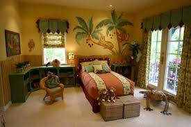 40 Jungle Themed Bedroom For Kids Rilane Enchanting Themes For Bedrooms Property