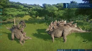 Jurassic World Evolution What Dinosaurs Can Live Gamewatcher