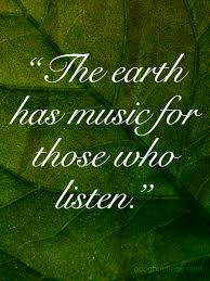 Earth Quotes Extraordinary ™� Green Quote About Mother Earth The Earth Has Song For Those