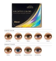 Optix Paper Colour Chart Air Optix Colours 2 Pack Air Optix Colours 2pk 54 25