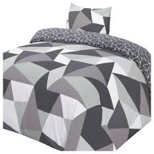 polycotton duvet cover with pillowcase bedding duvet covers sets by home
